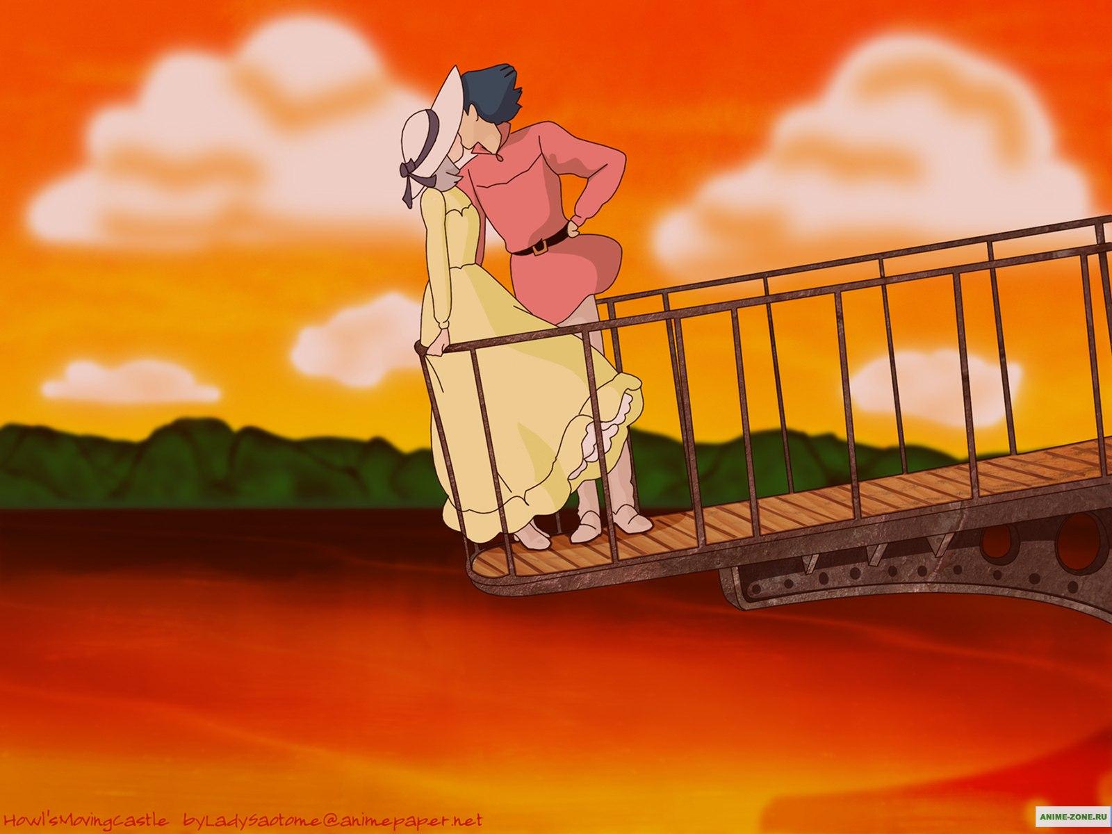 аниме ходячий замок картинки: