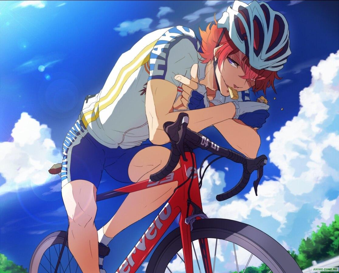 Смотреть аниме трусливый велосипедист 21 фотография